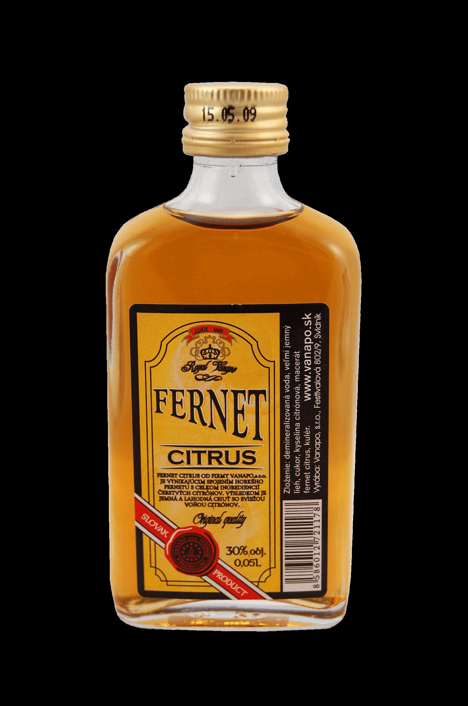 Fernet Citrus Vanapo