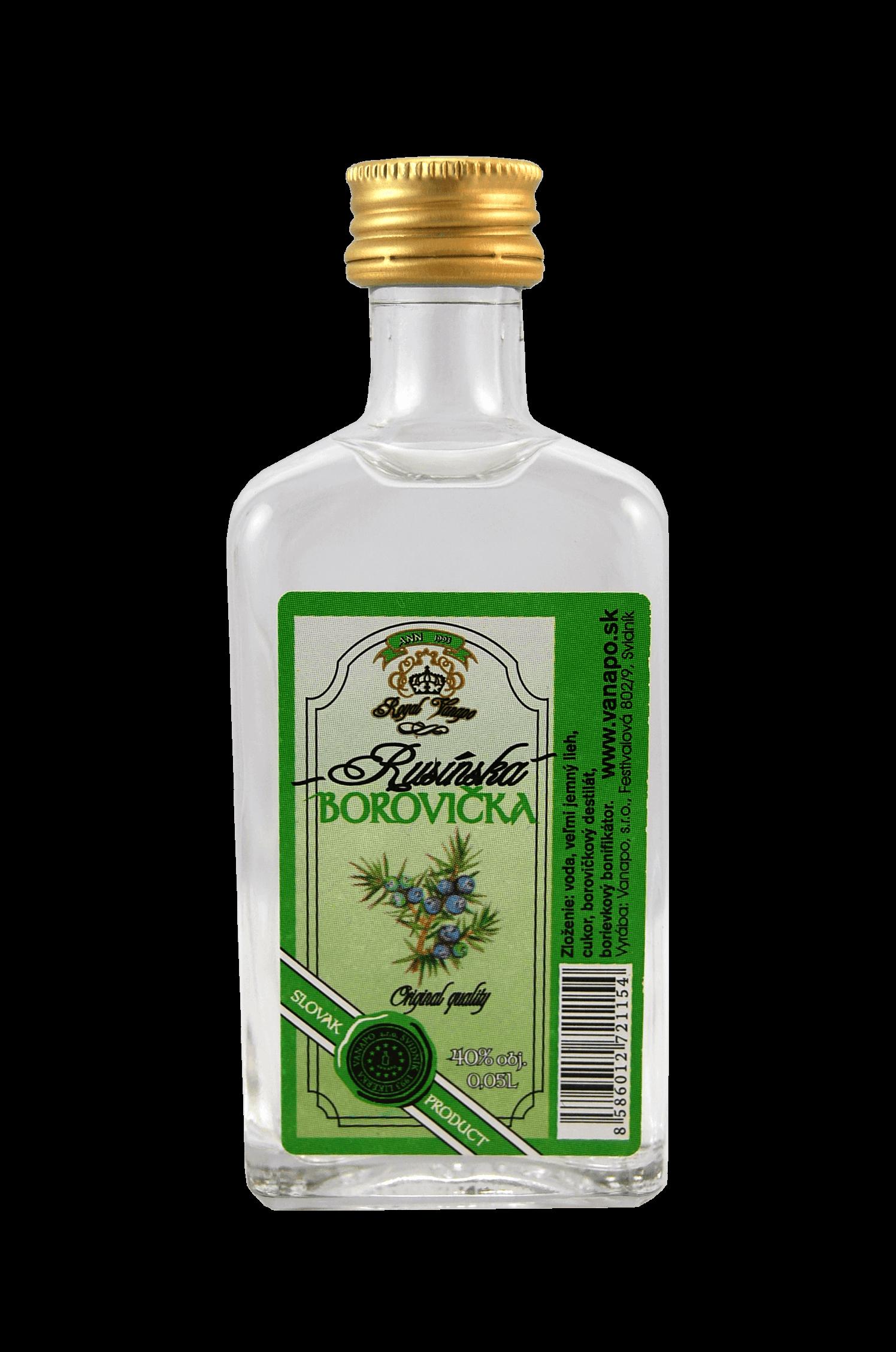 Rusínská Borovička Vanapo