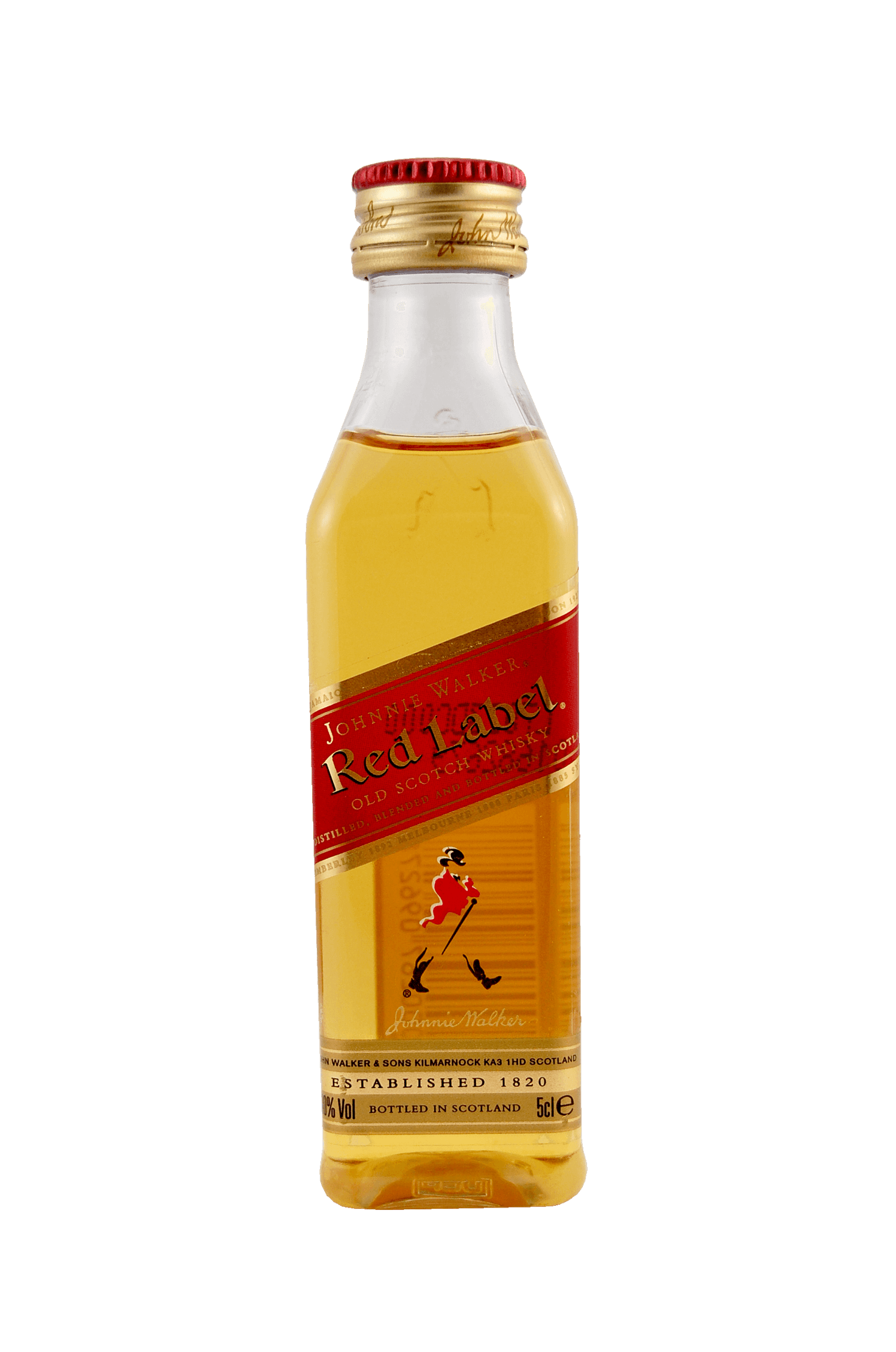 Red Label Old Scotch Whiskey