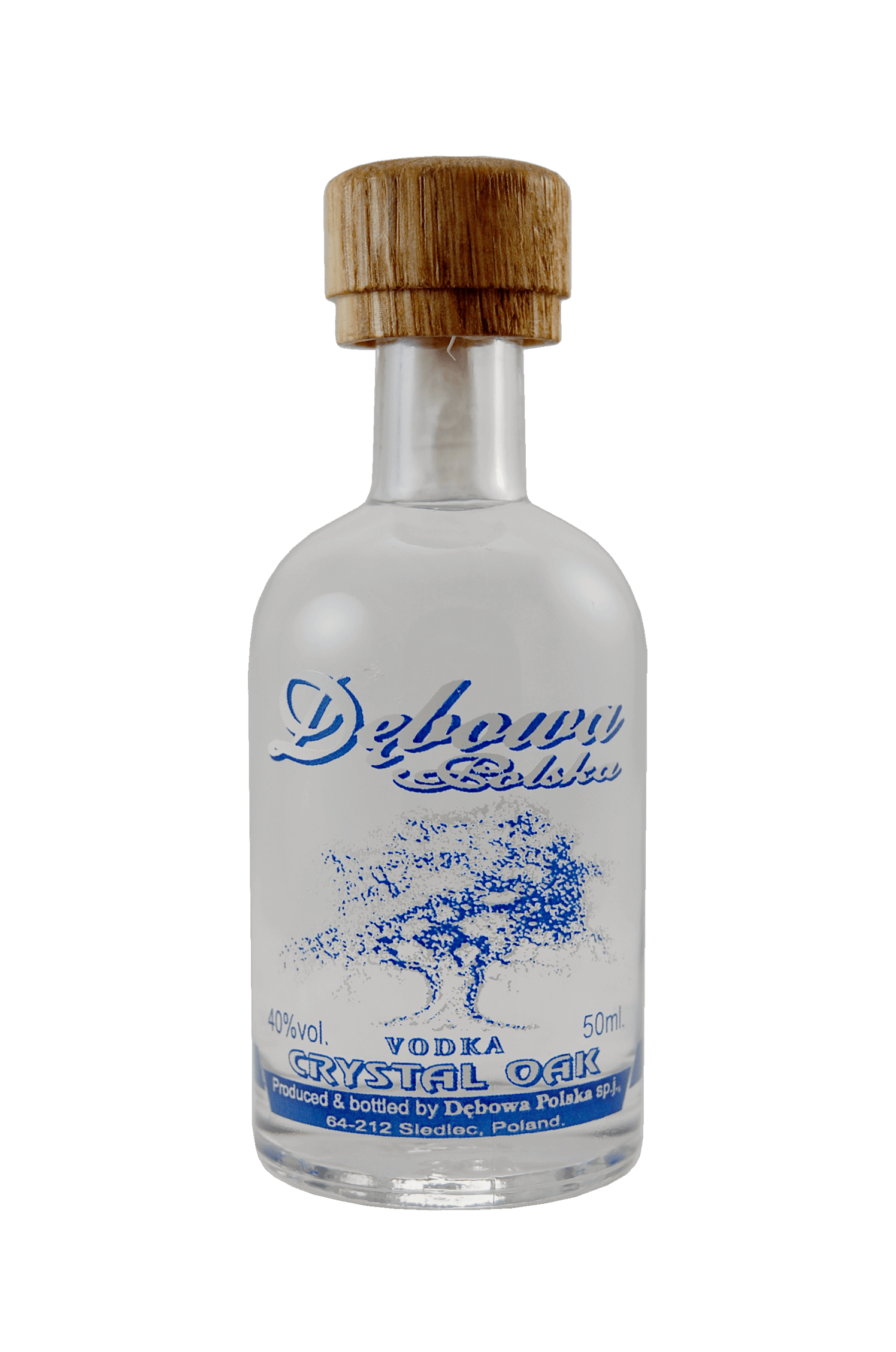 Vodka Crystal Oak Debowa