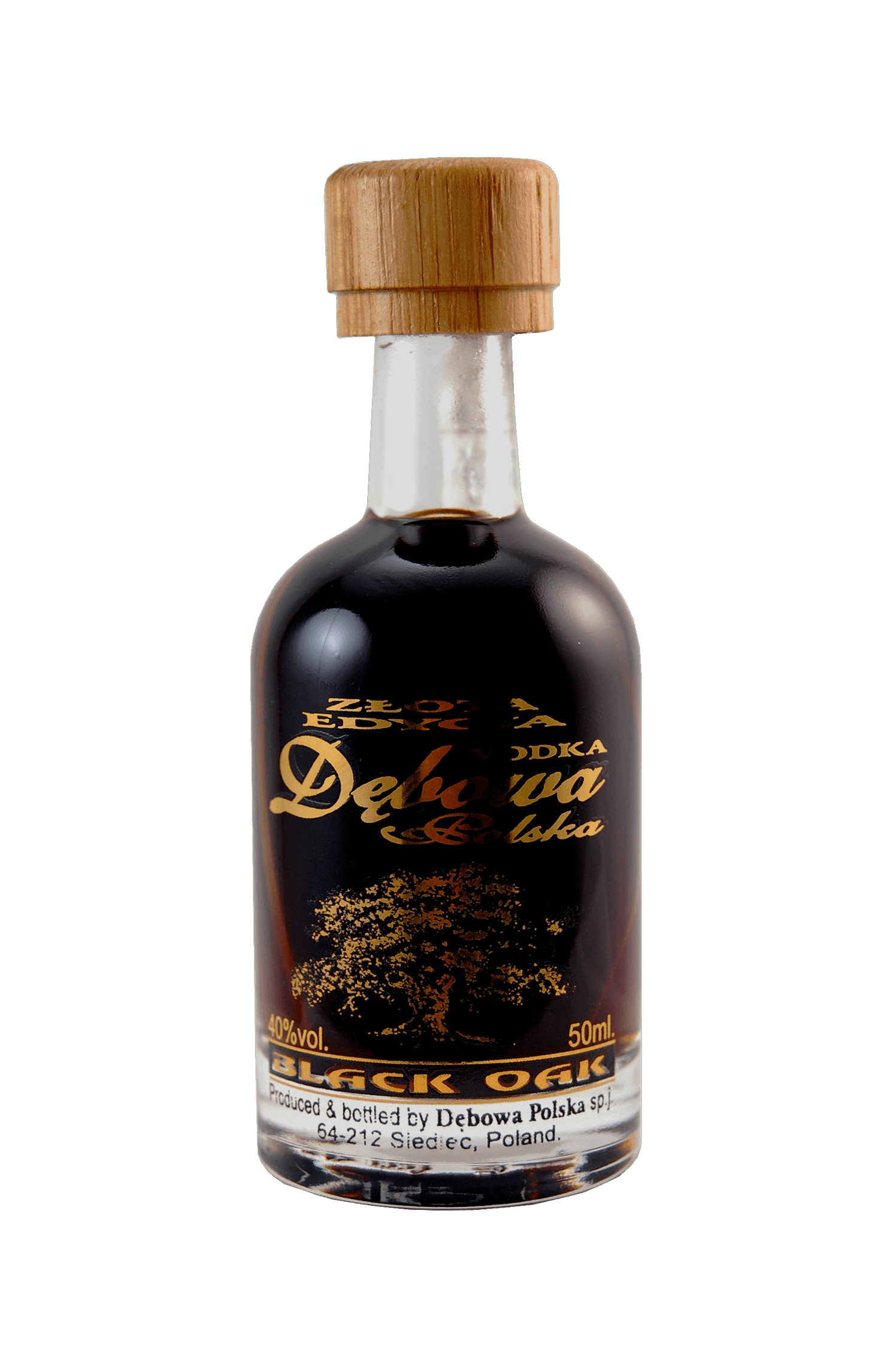 Vodka Black Oak Debowa