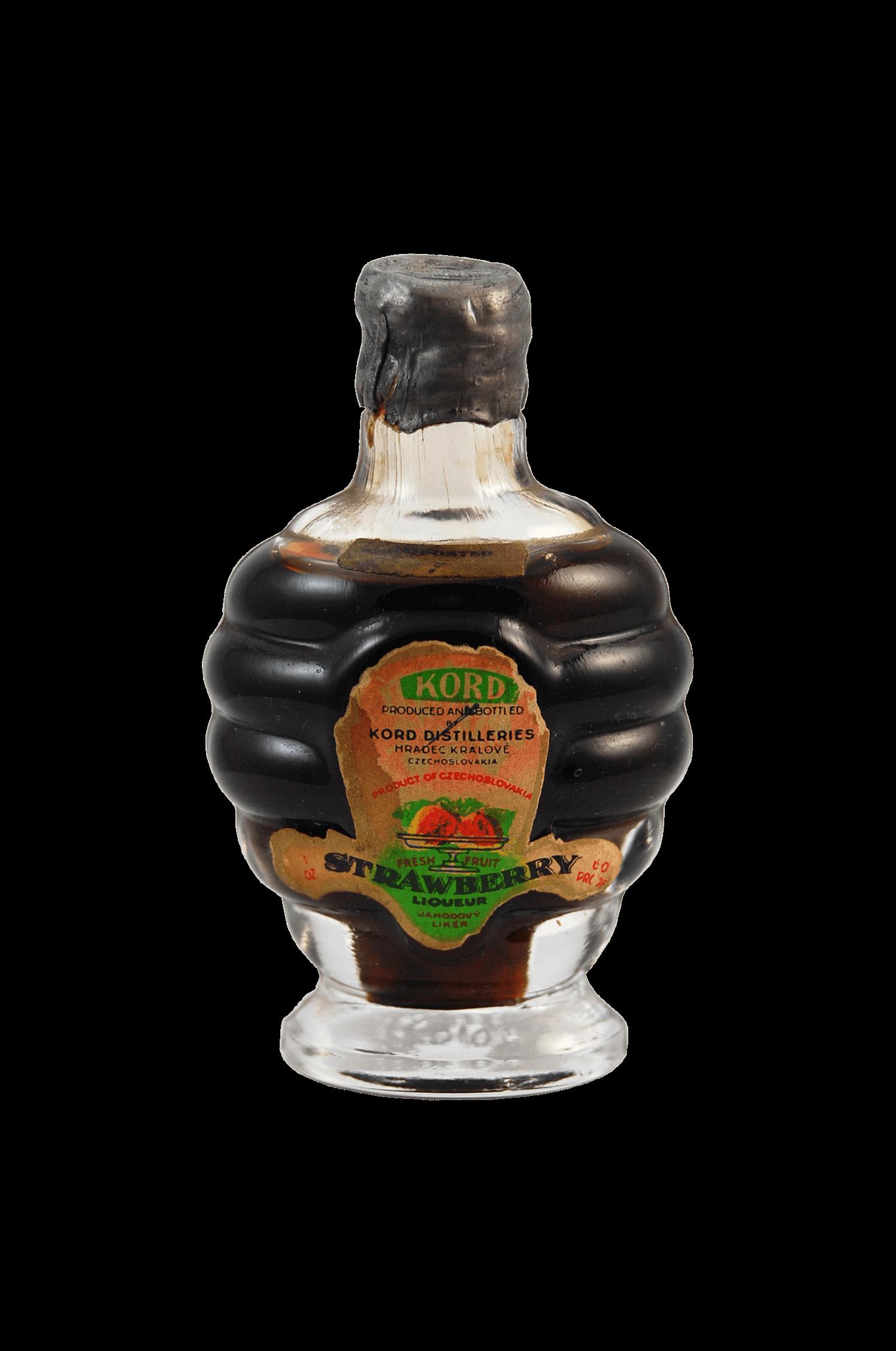 Kord Strawberry Jahodový likér