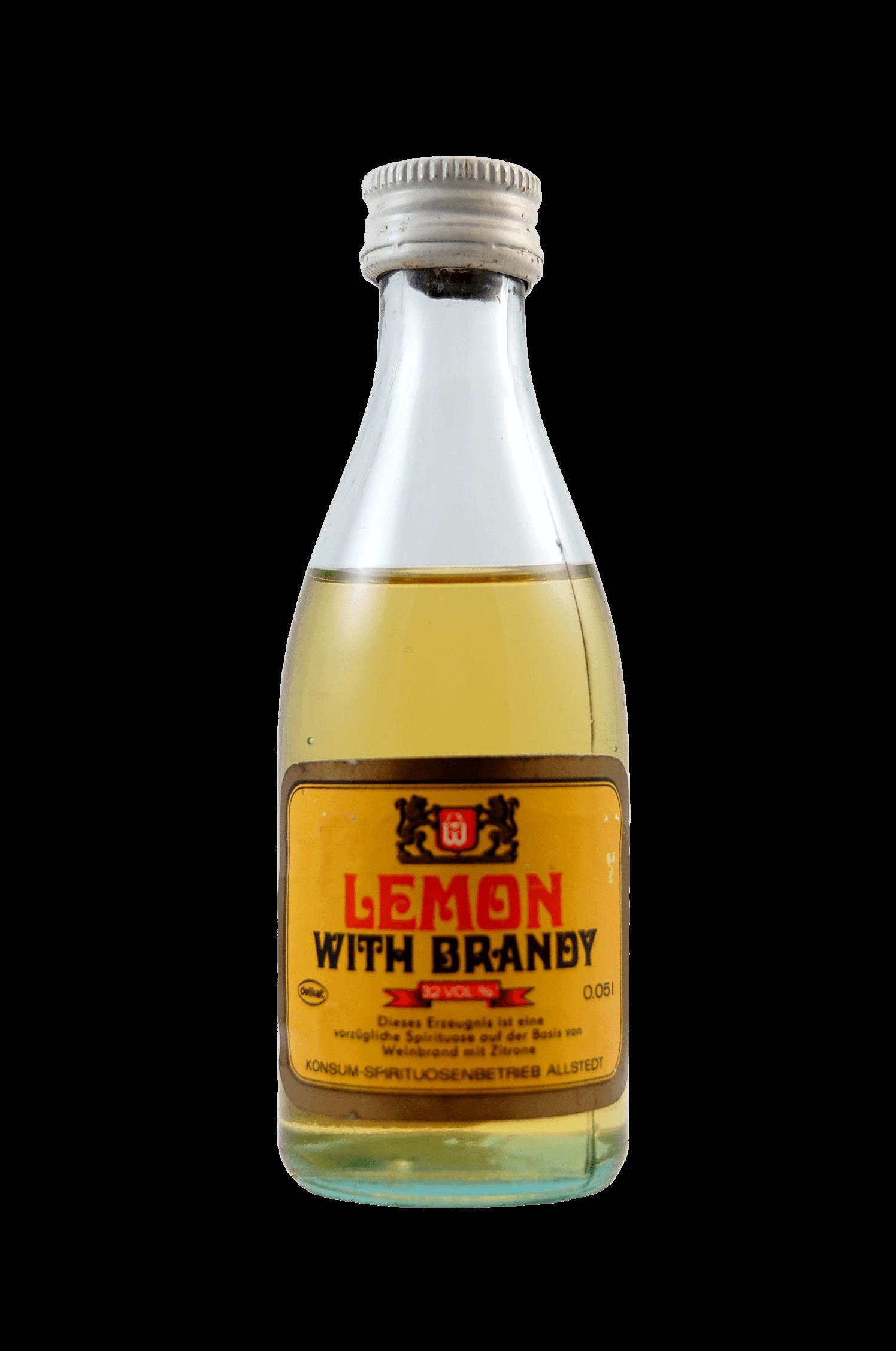 Lemon With Brandy