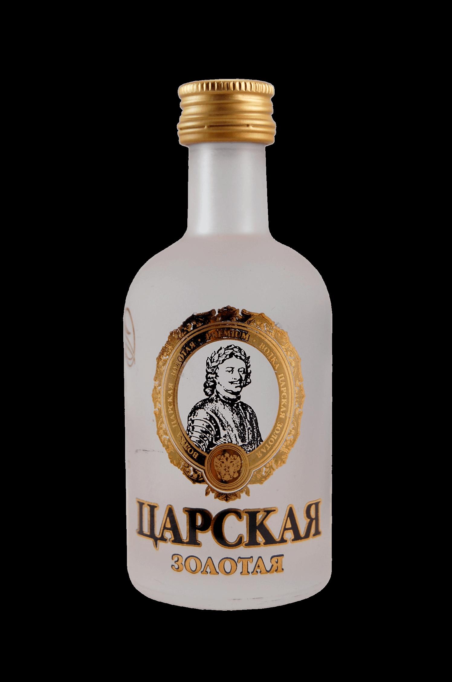 Vodka Carskaja Zolotaja