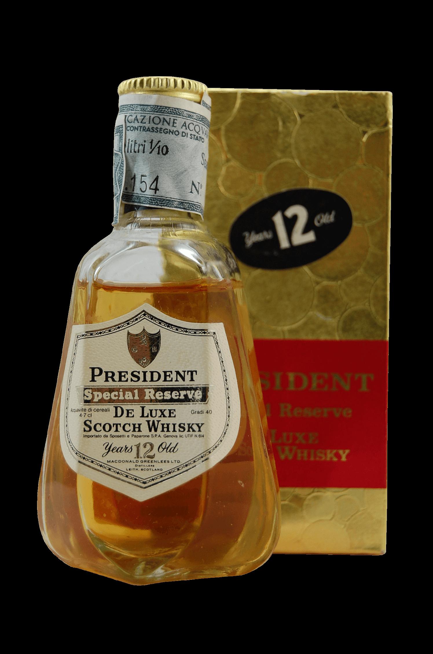 President De Luxe Scotch Whisky