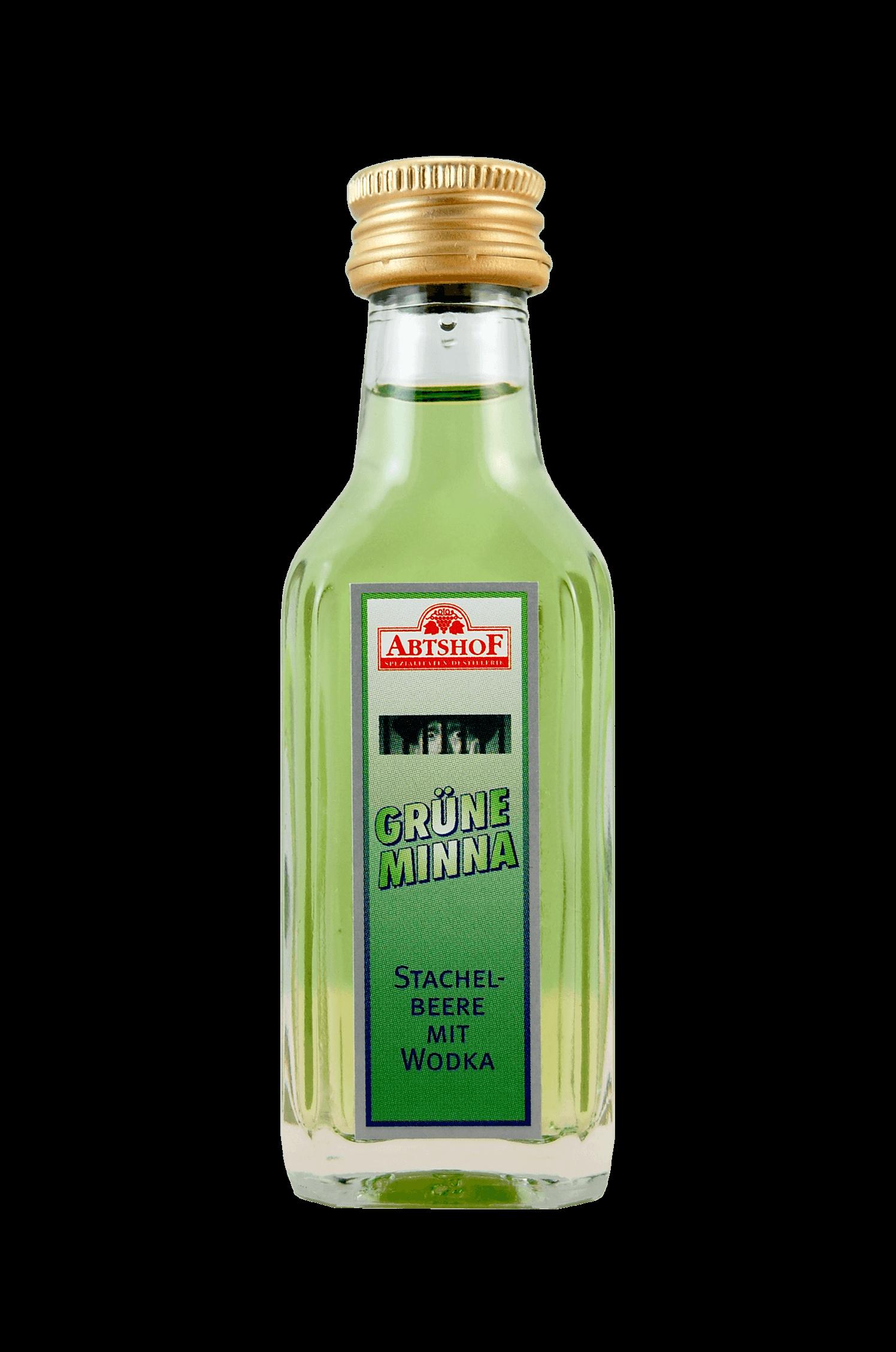Grüne Minna Wodka