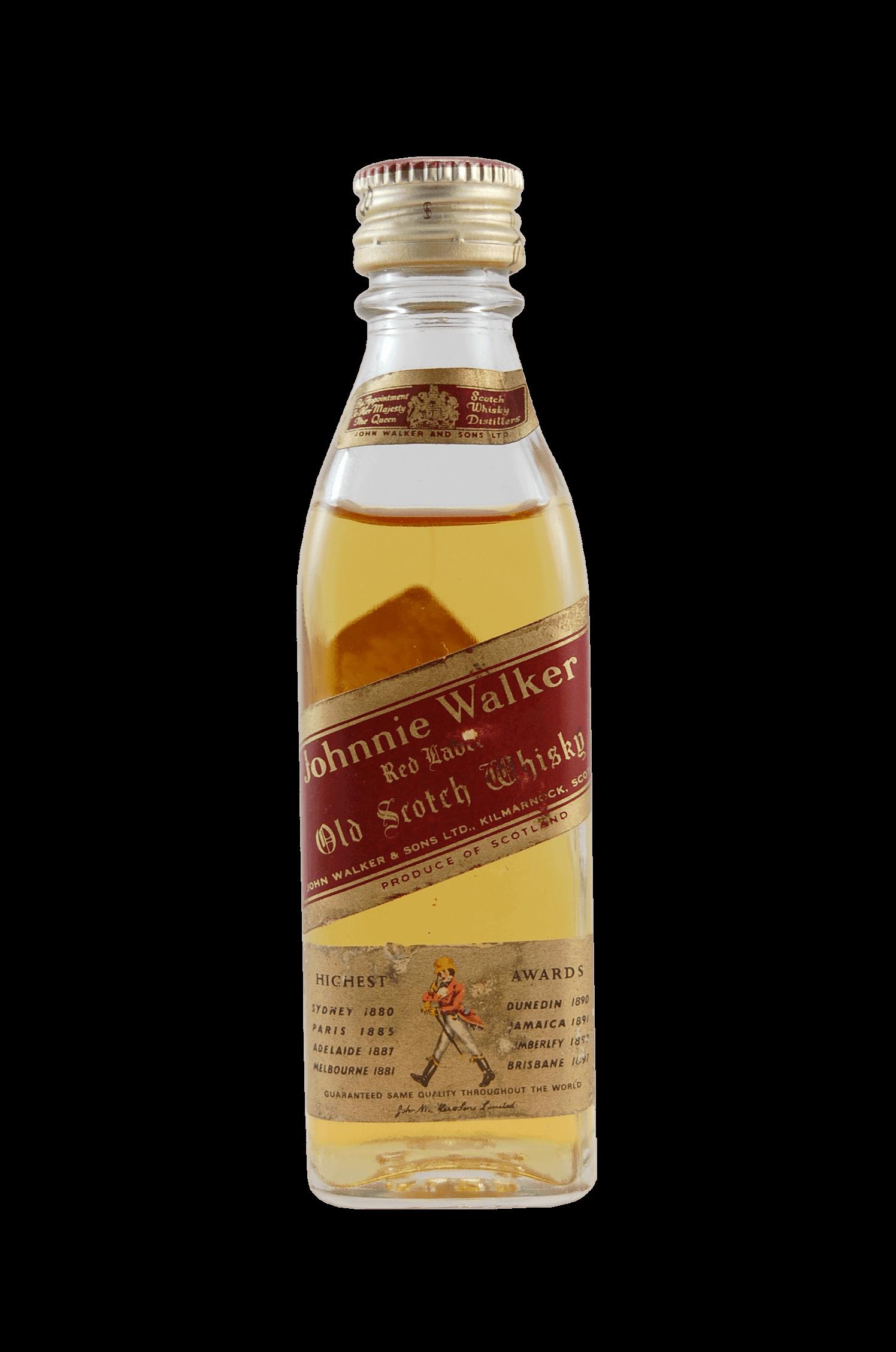 Red Label Kilmarnock Whisky