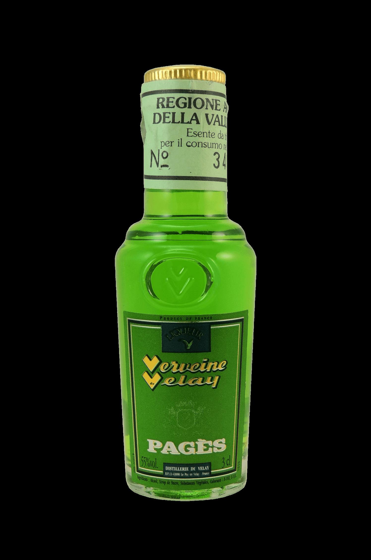 Verveine Velay Pagés Liqueur