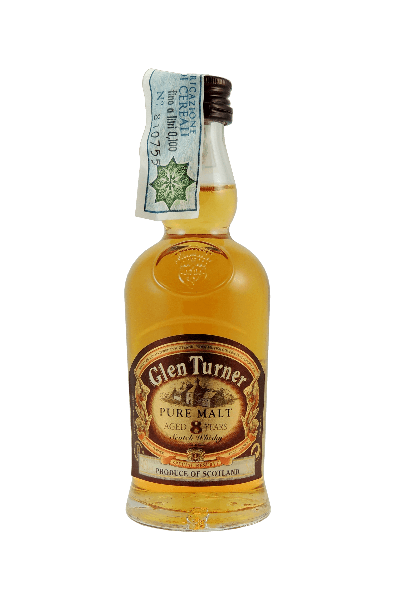 Glen Turner Pure Malt 8 Years
