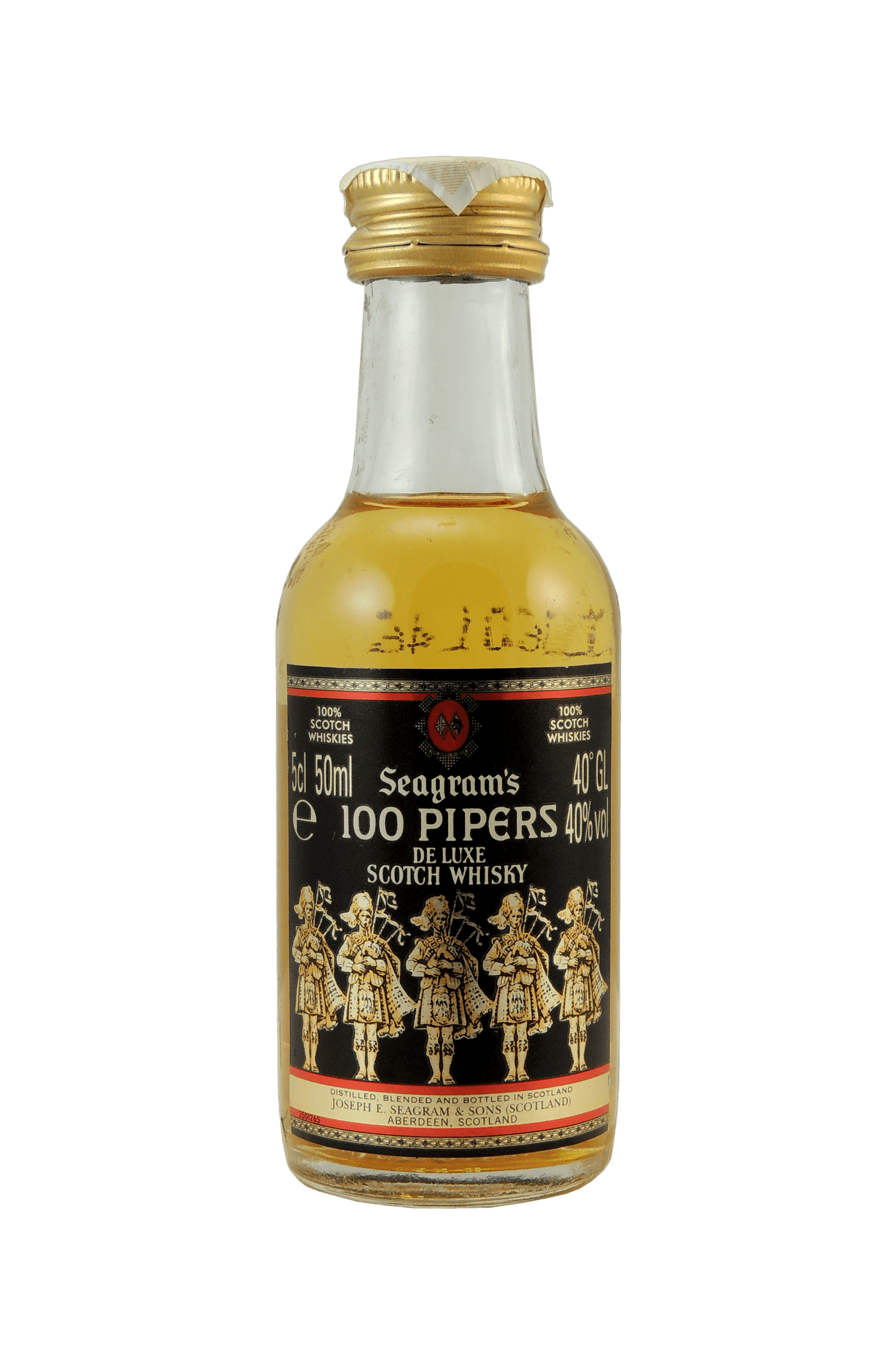 Seagram's 100 Pipers Whisky