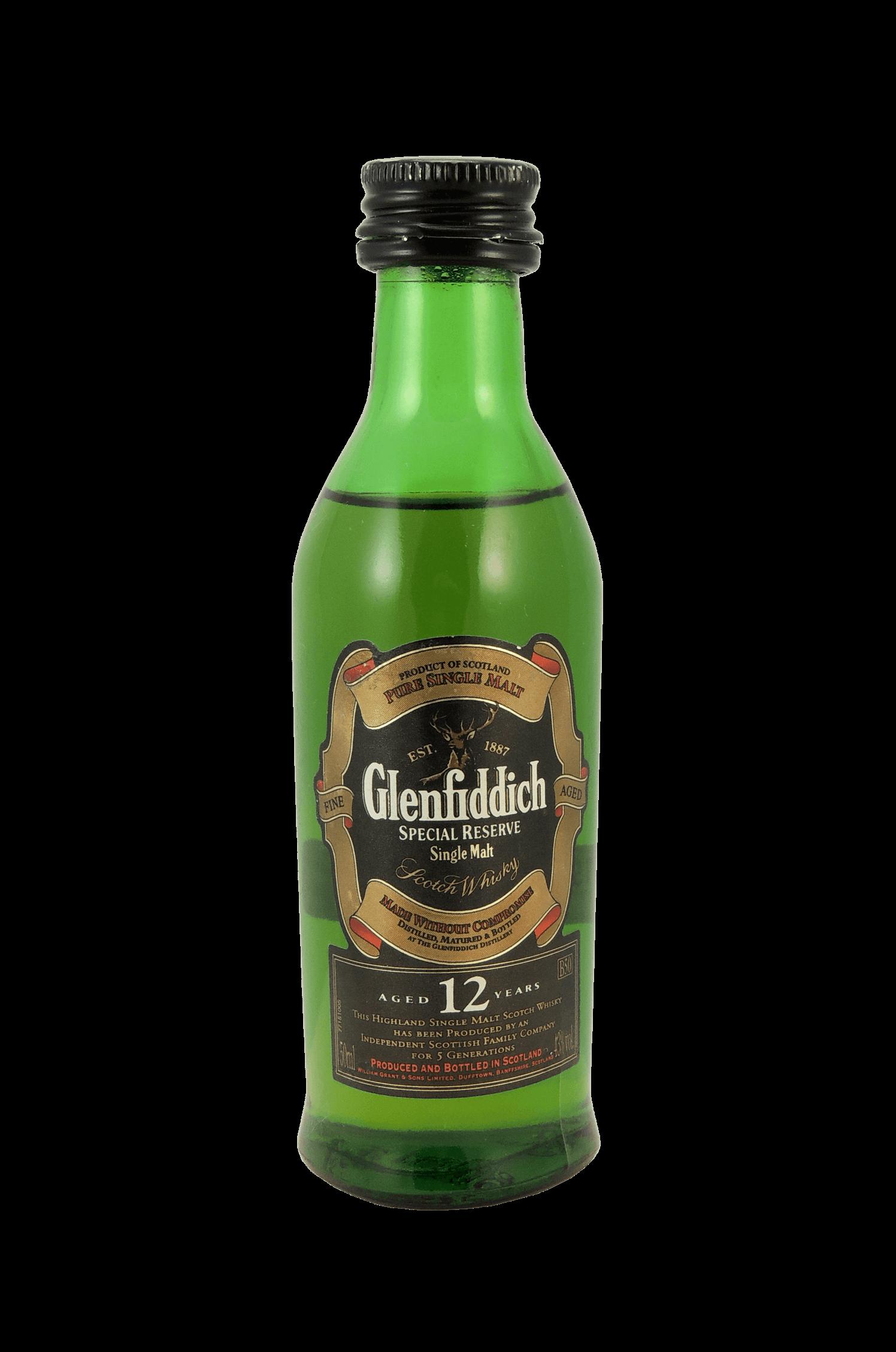 Glenfiddich 12 Scotch Whisky
