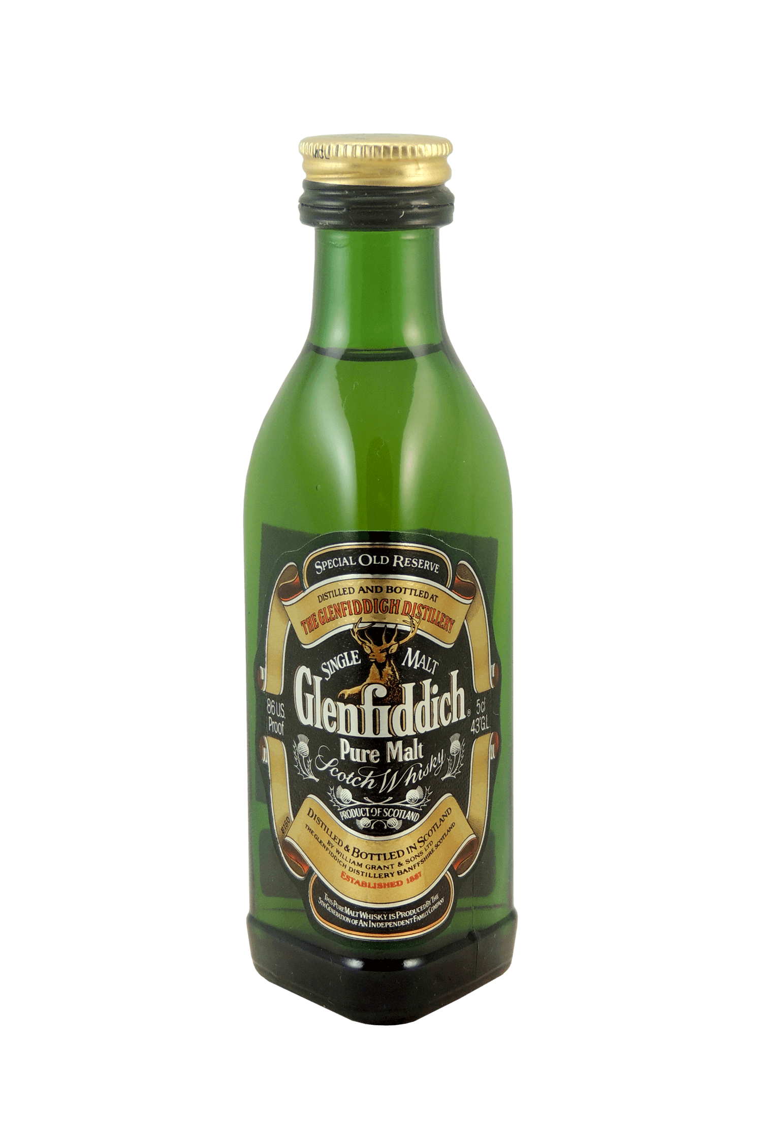 Glenfiddich Pure Malt Scotch Whisky