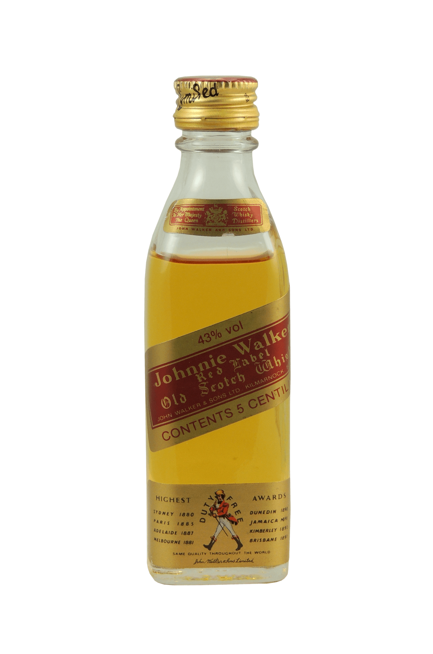 Red Label Old Scotch Whisky