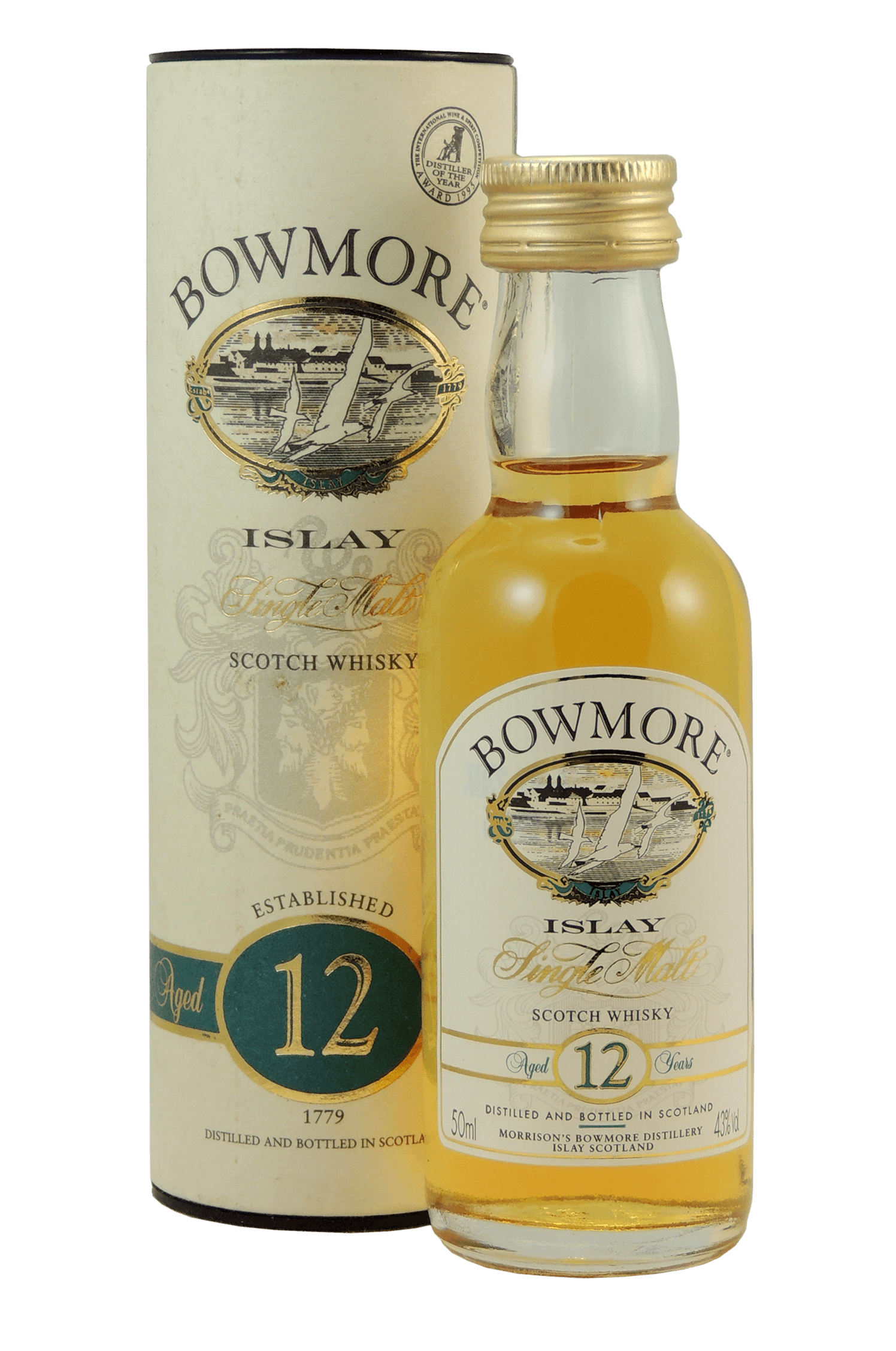 Bowmore Islay 12 Scotch Whisky