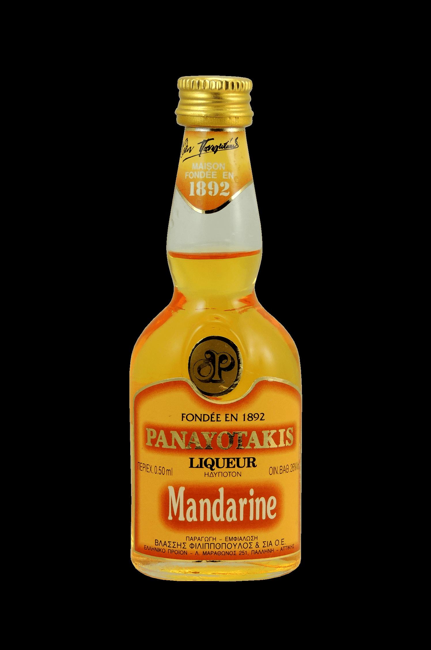 Panayotakis Mandarine Liqueur