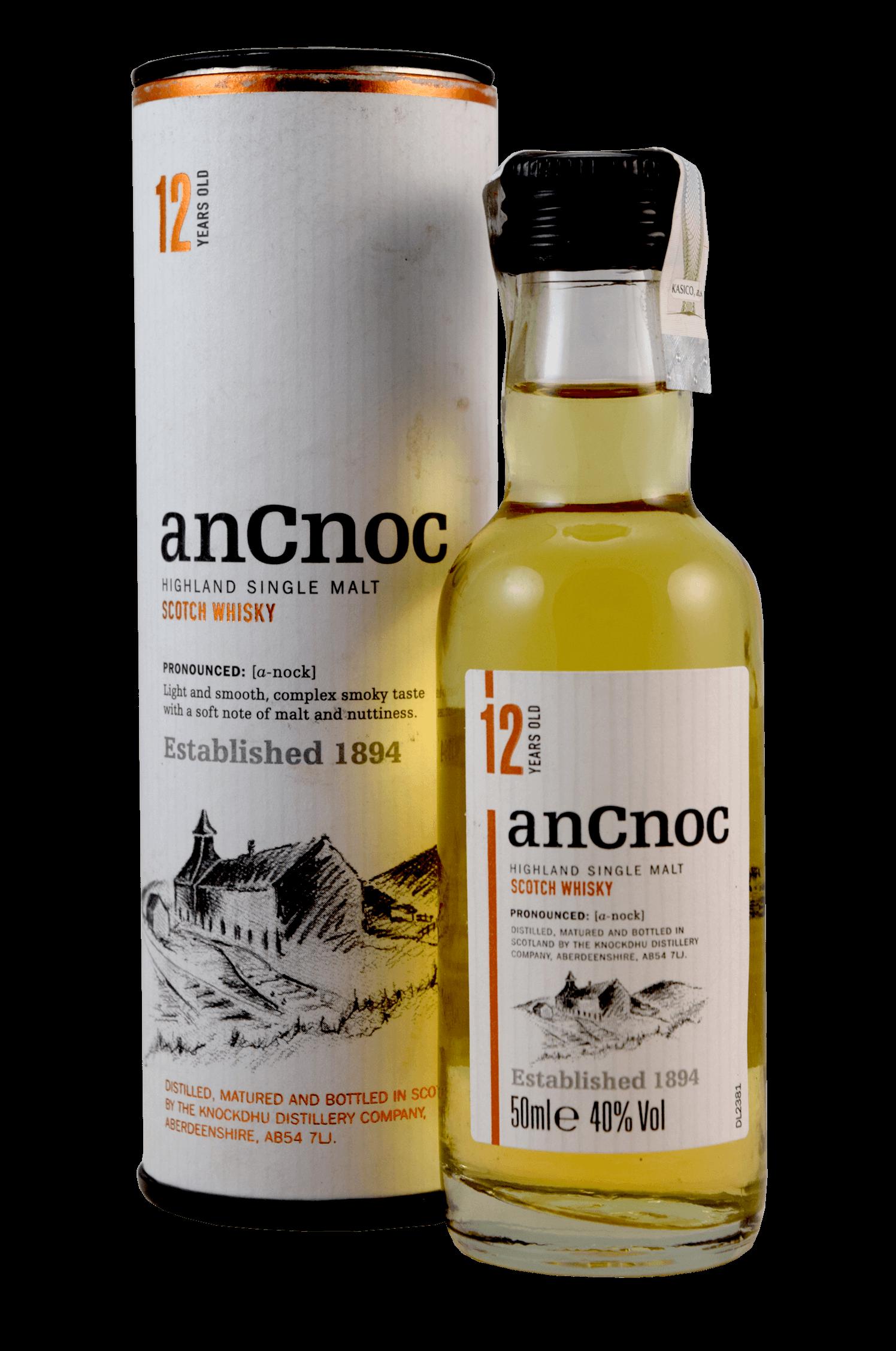 Ancnoc Scotch Whisky