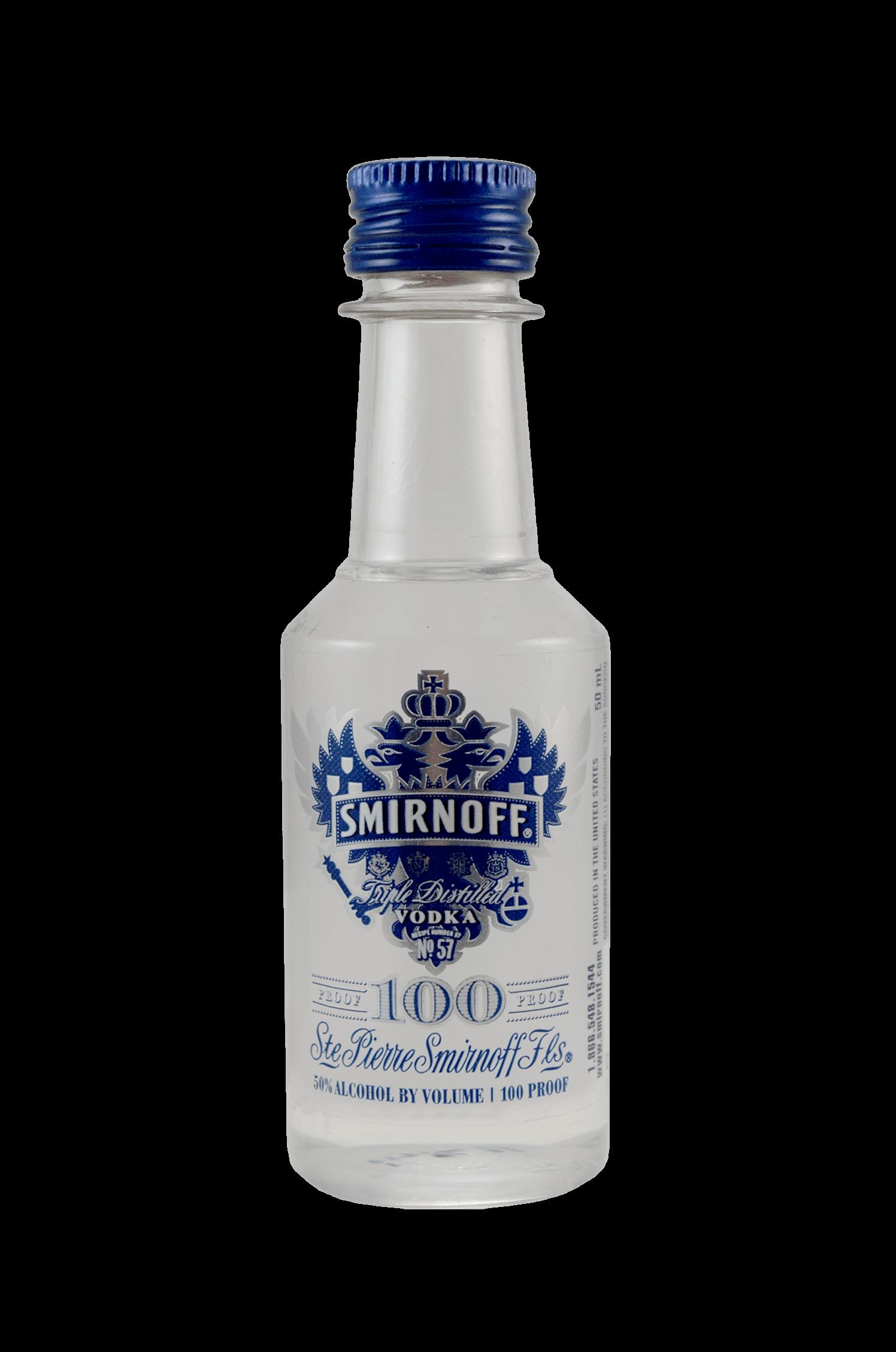 Smirnoff Vodka 100