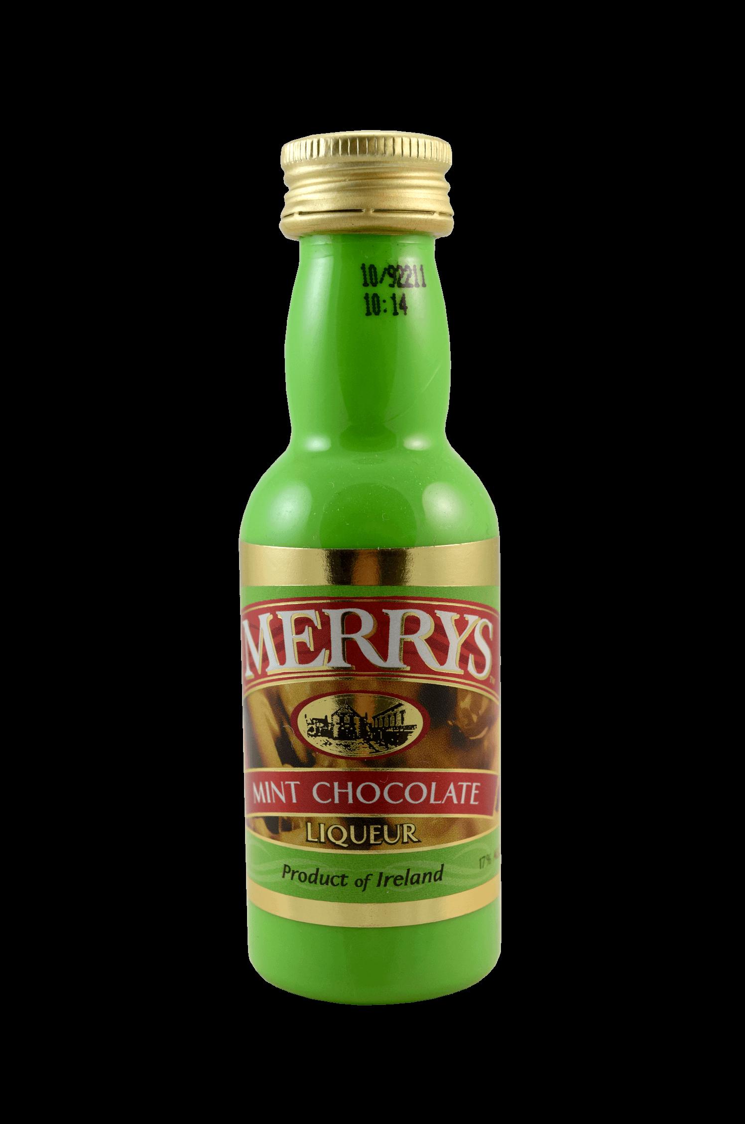 Mint Chocolate Liqueur