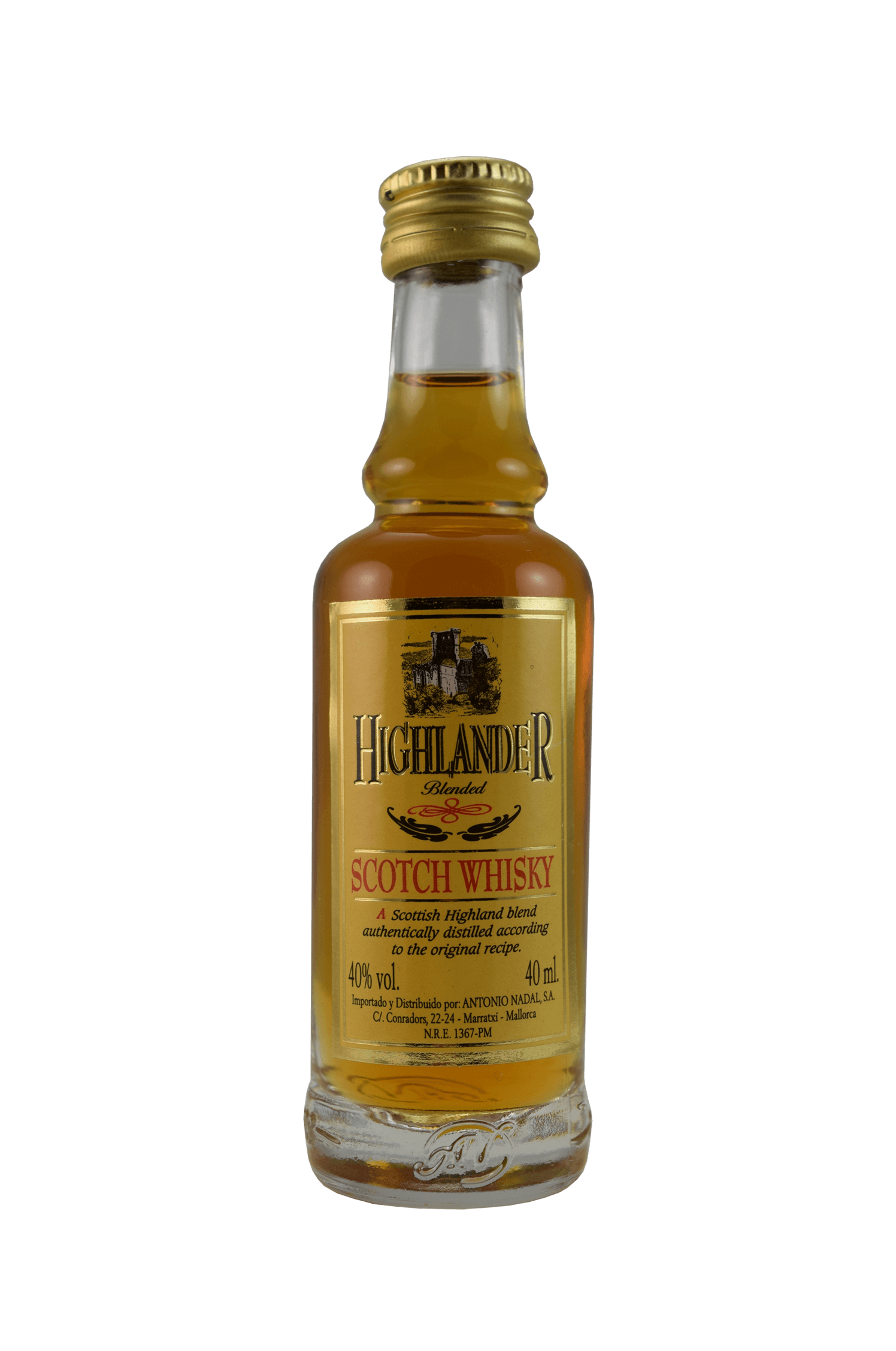 Highlander Scotch Whisky