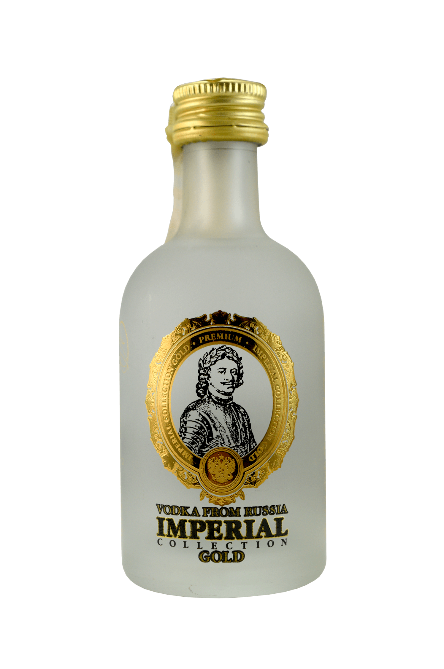 Vodka From Russia Imperial Gold