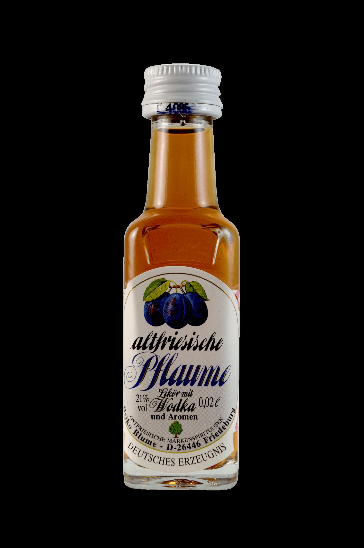 Altfriesische Pflaume Likör Wodka