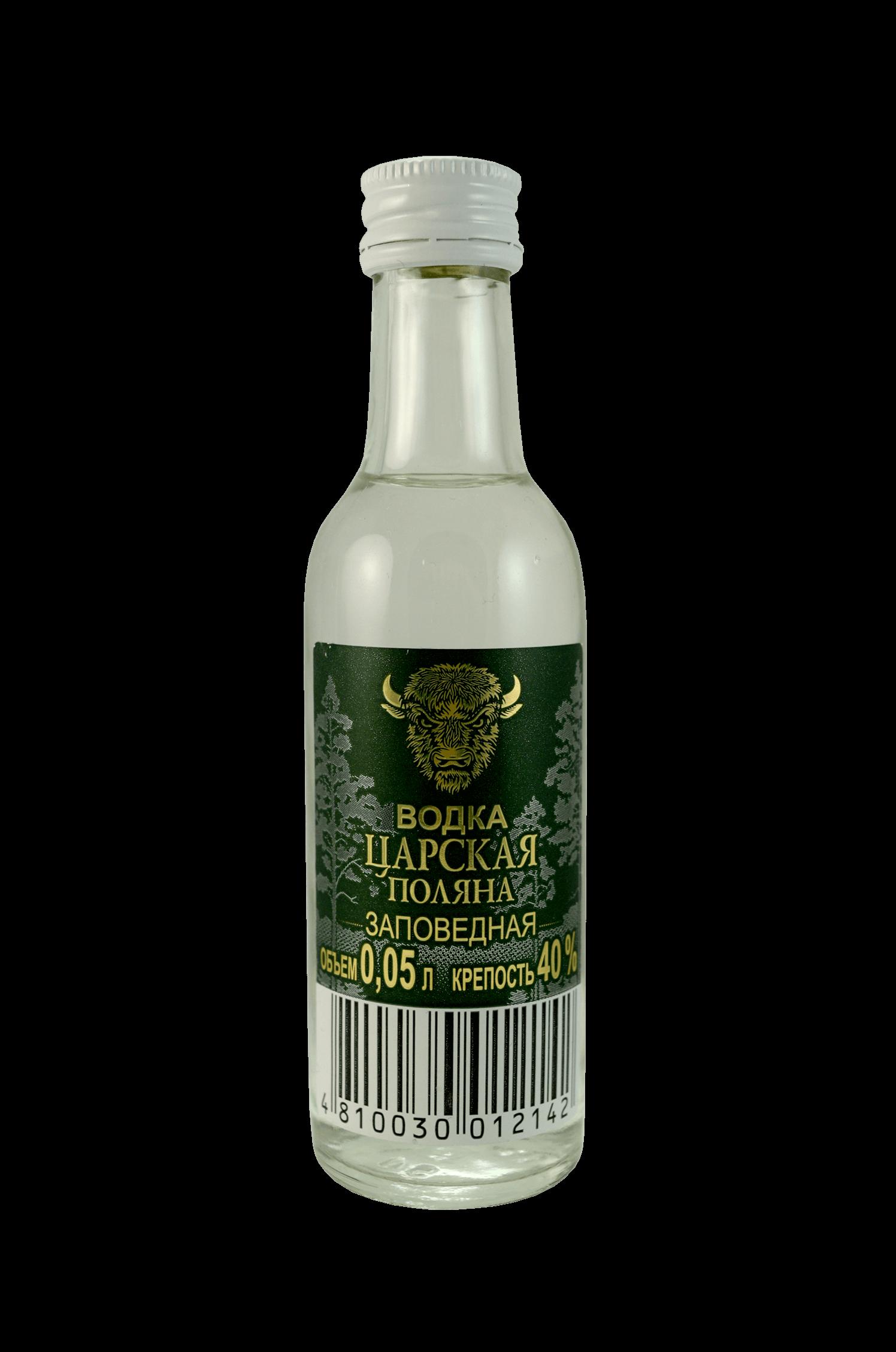 Vodka Carskaya Zapovednaya