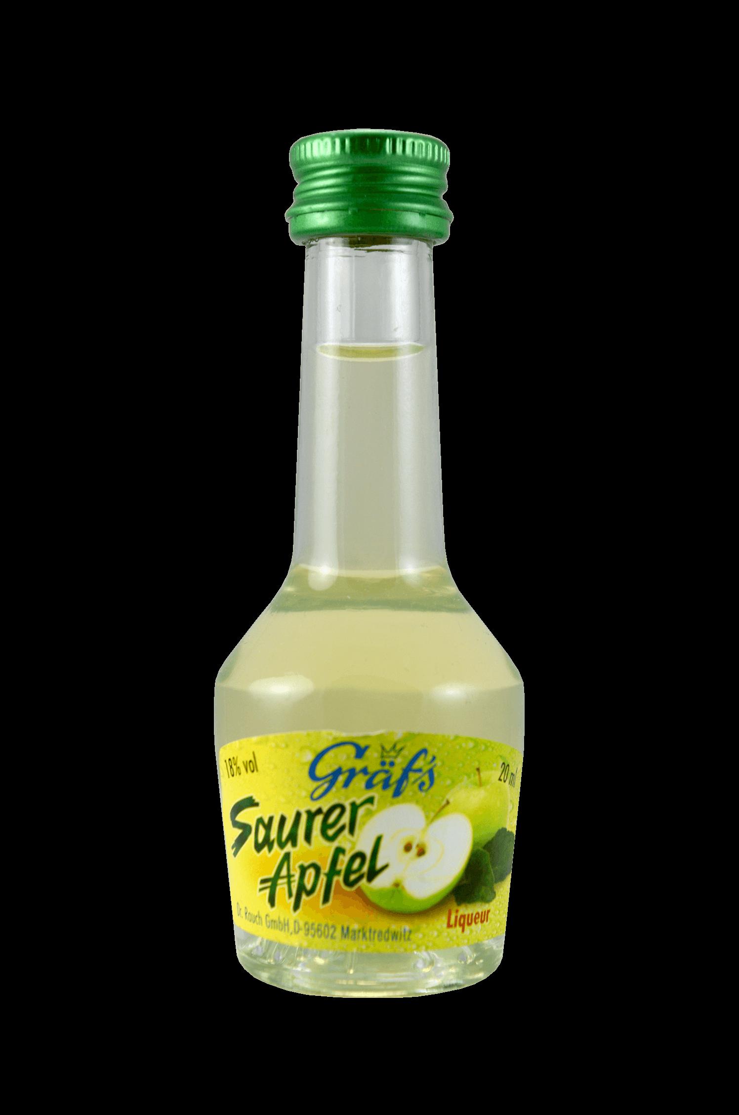 Saurer Apfel Liqueur