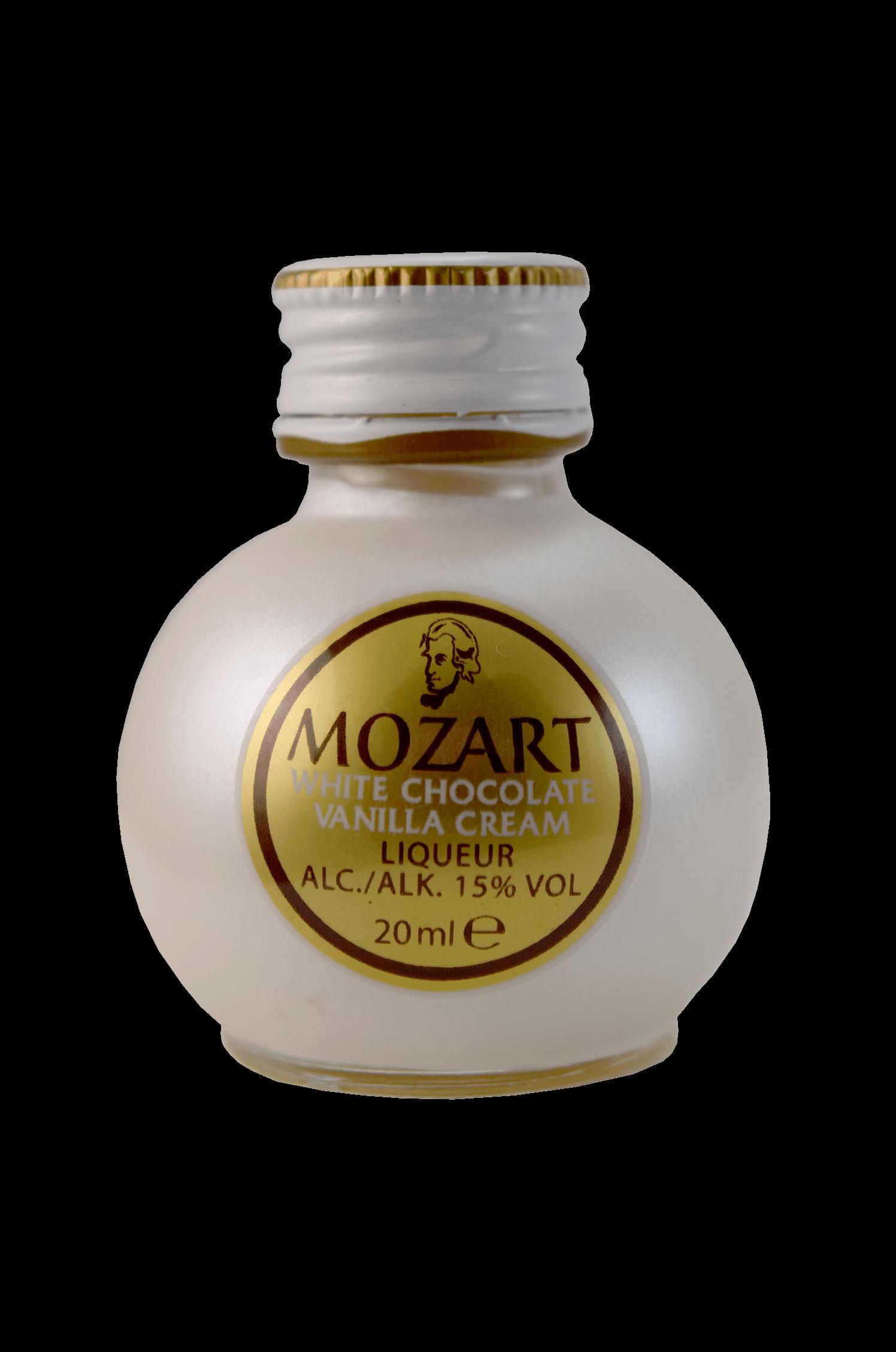 Mozart Vanilla Cream Liqueur