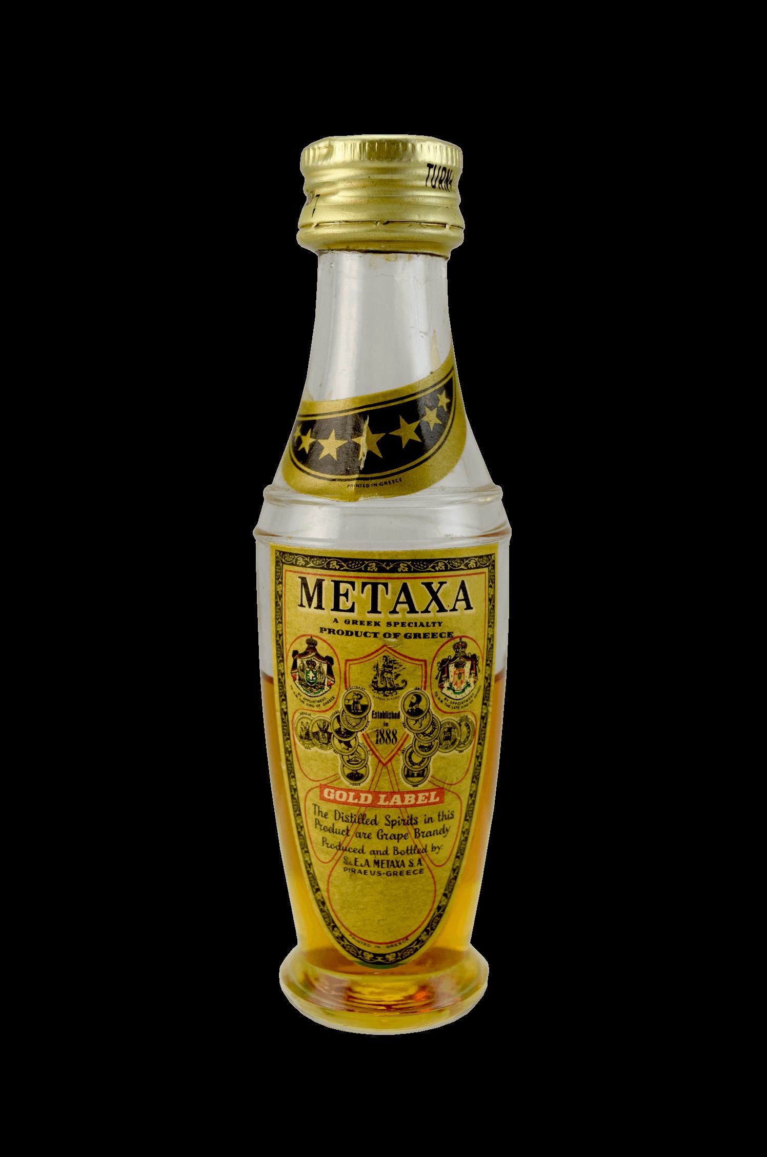 Metaxa Gold Label