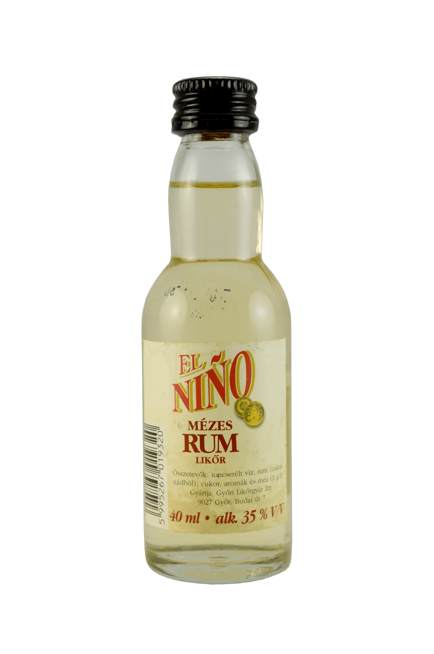 El Niňo Mézes Rum Likör