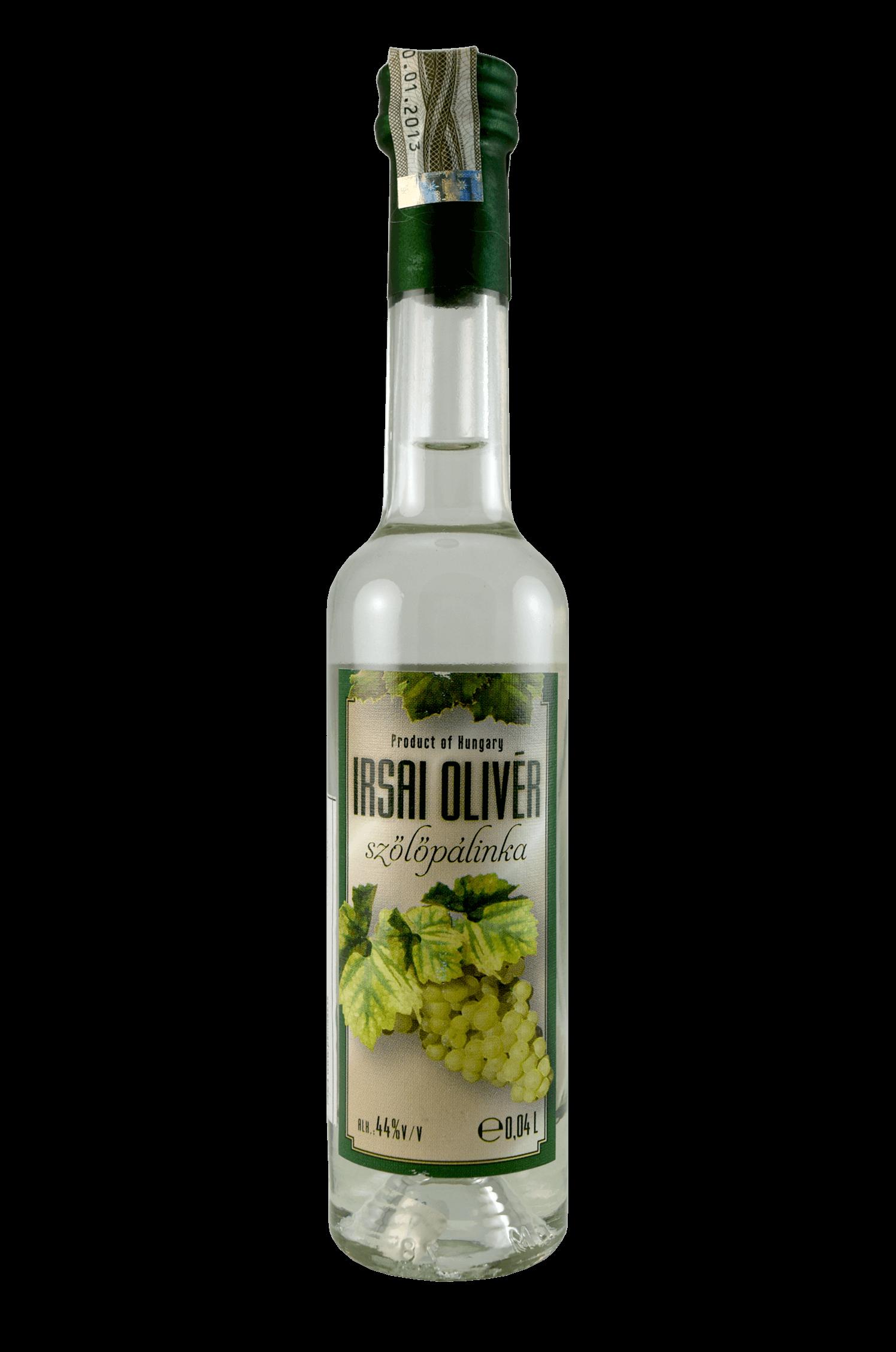 Irsai Olivér Szölöpálinka