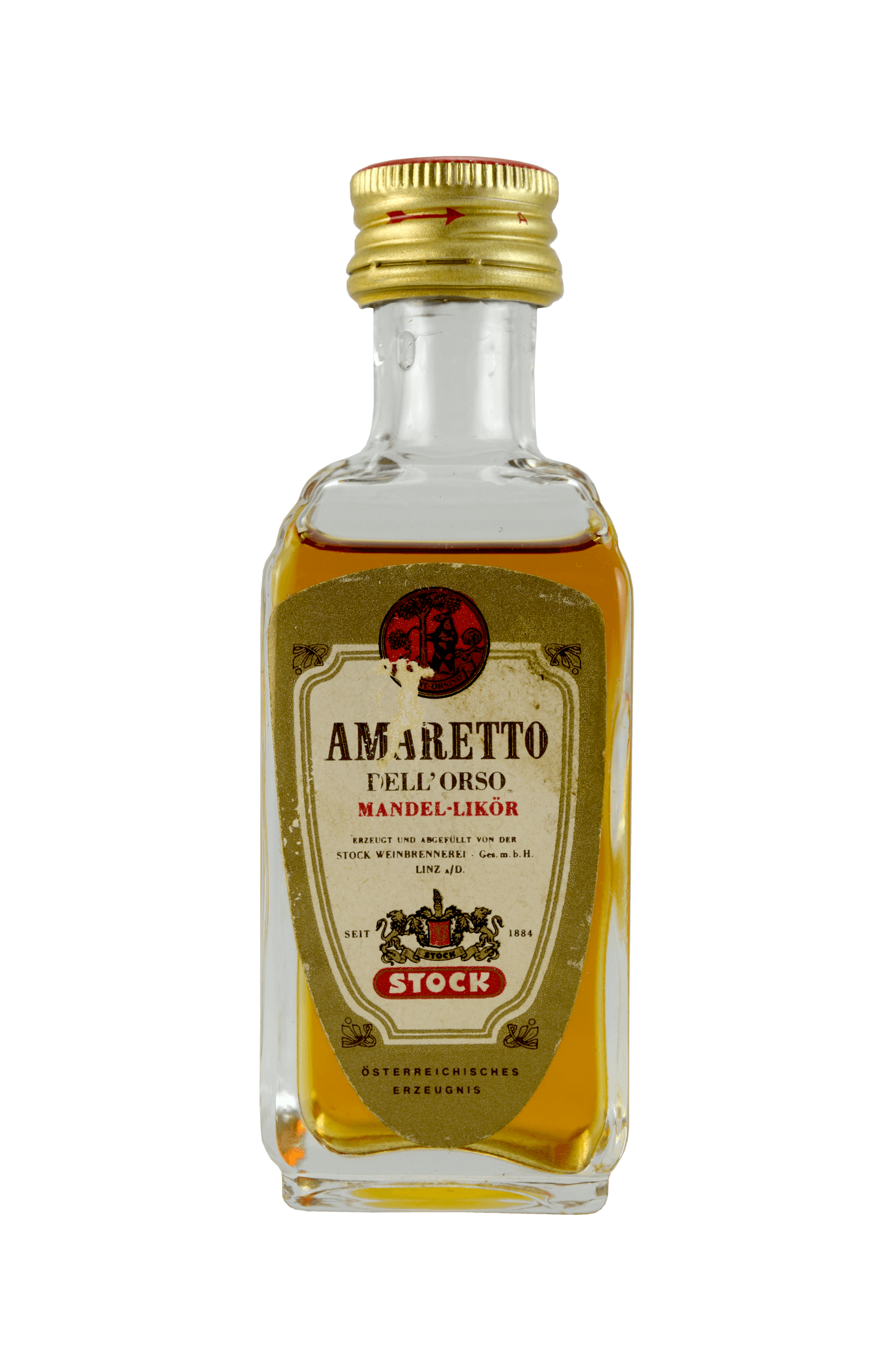Amaretto Dell'orso Mandel Likör