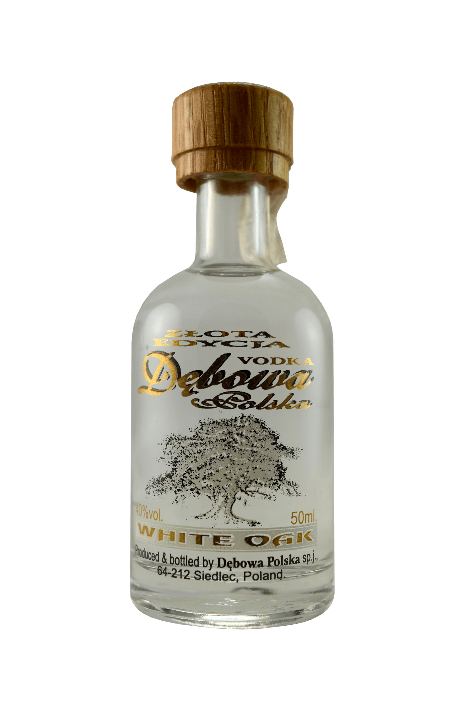 Debowa Vodka White Oak