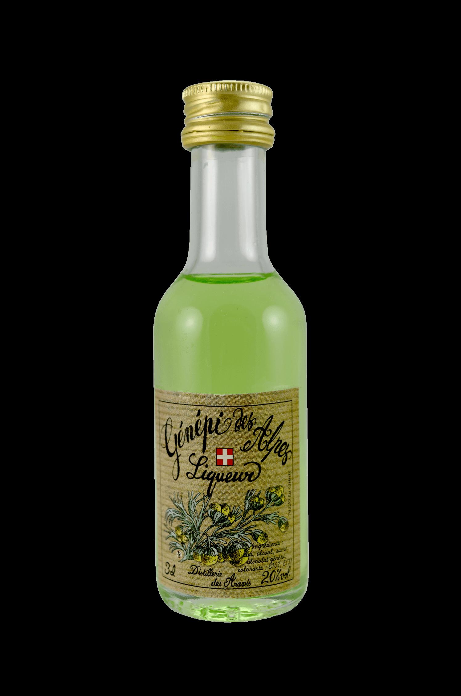 Génépi Des Alpes Liqueur