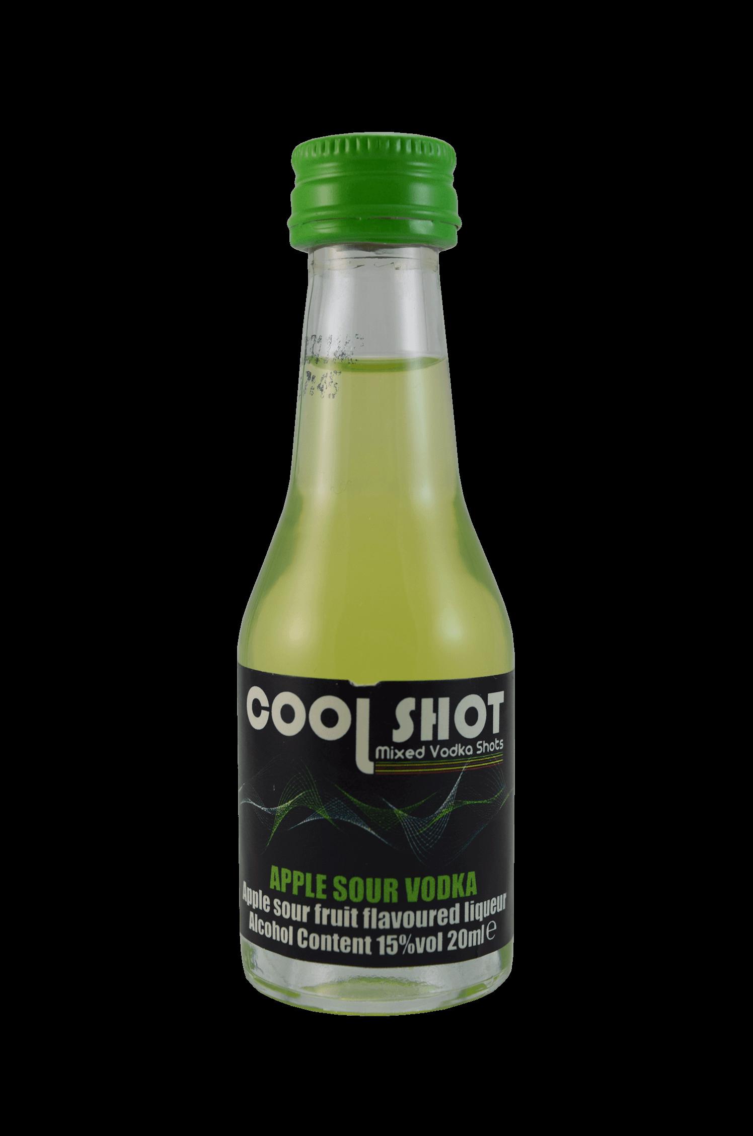 Cool Shot Apple Sour Vodka