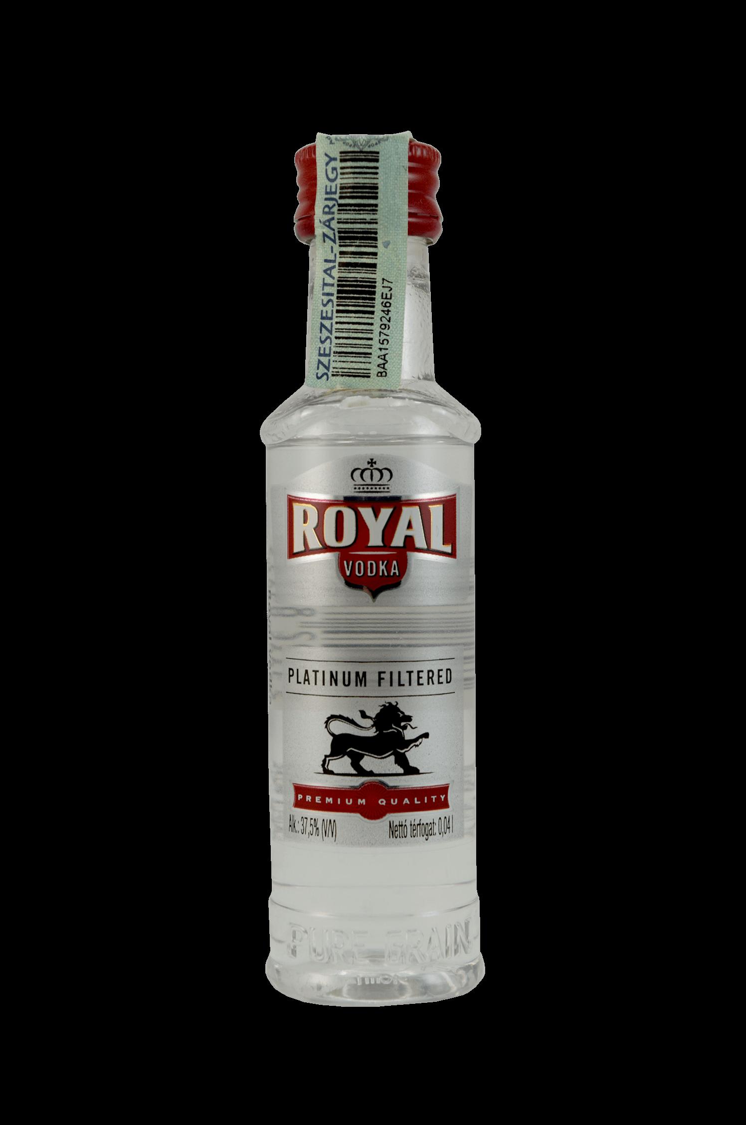 Royal Vodka Platinum Filtered