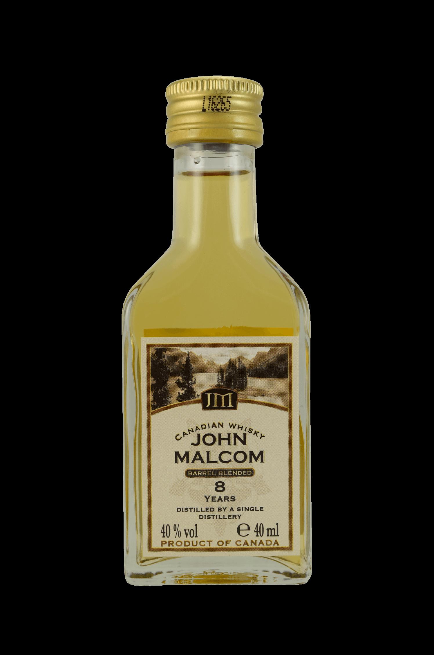 John Malcom 8 Years Whisky