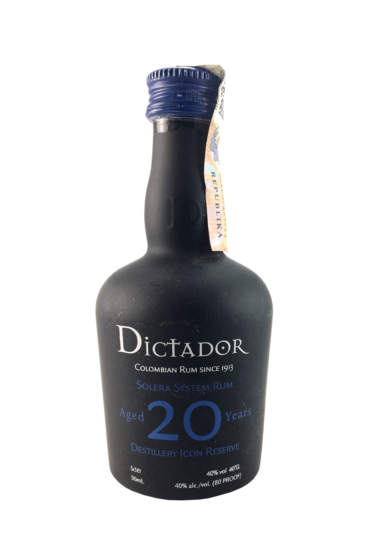 Dictator Rum Aged 20 Years