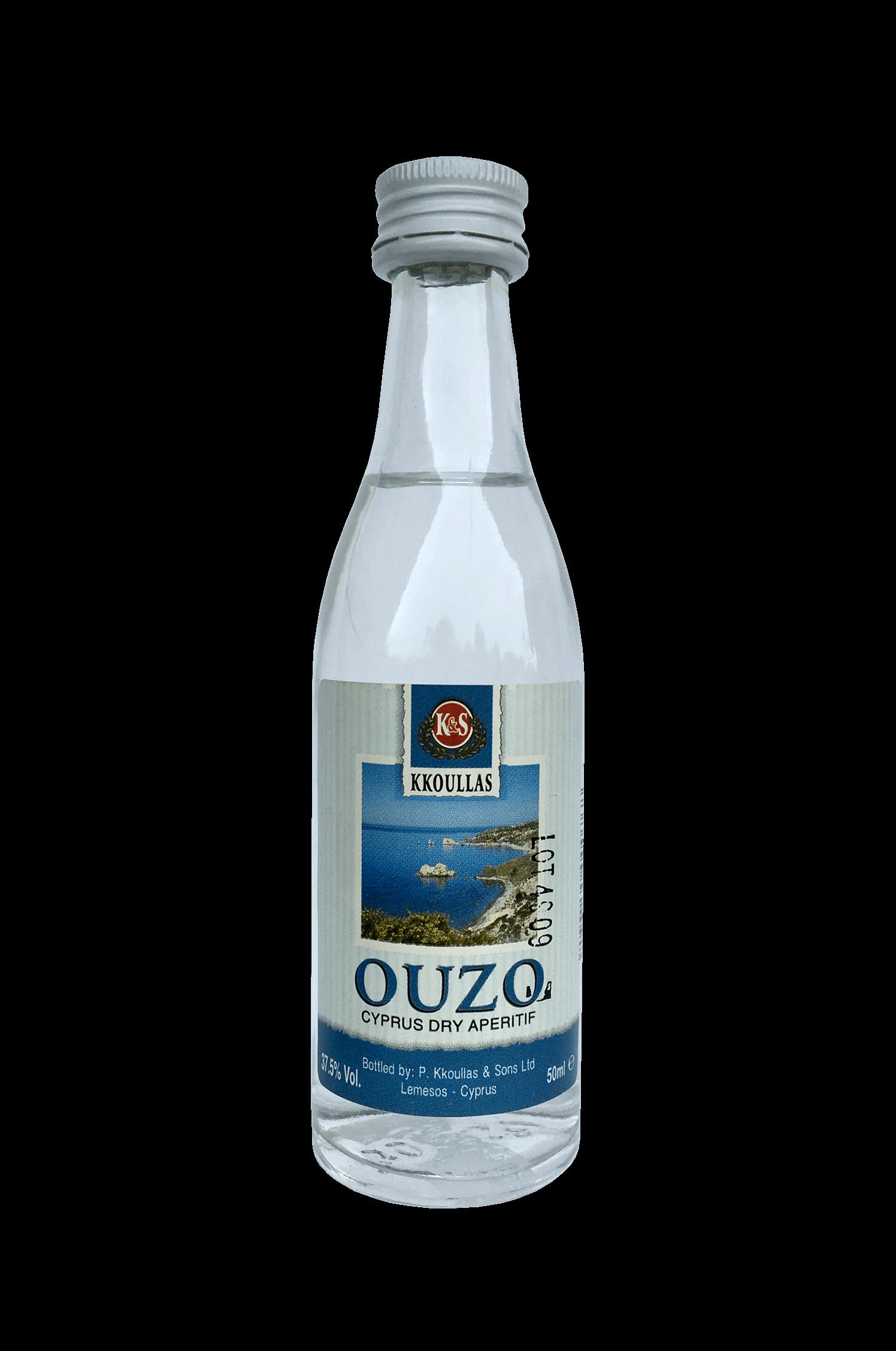Ouzo Cyprus Dry Aperitif