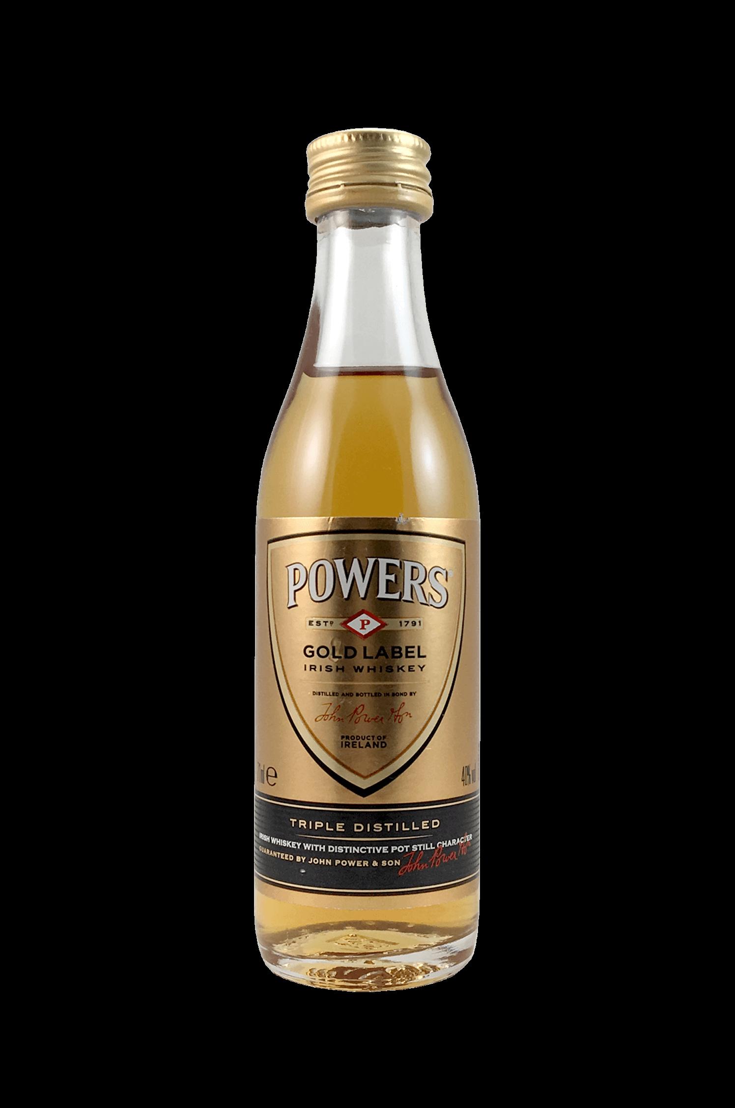 Powers Gold Label Irish Whisky