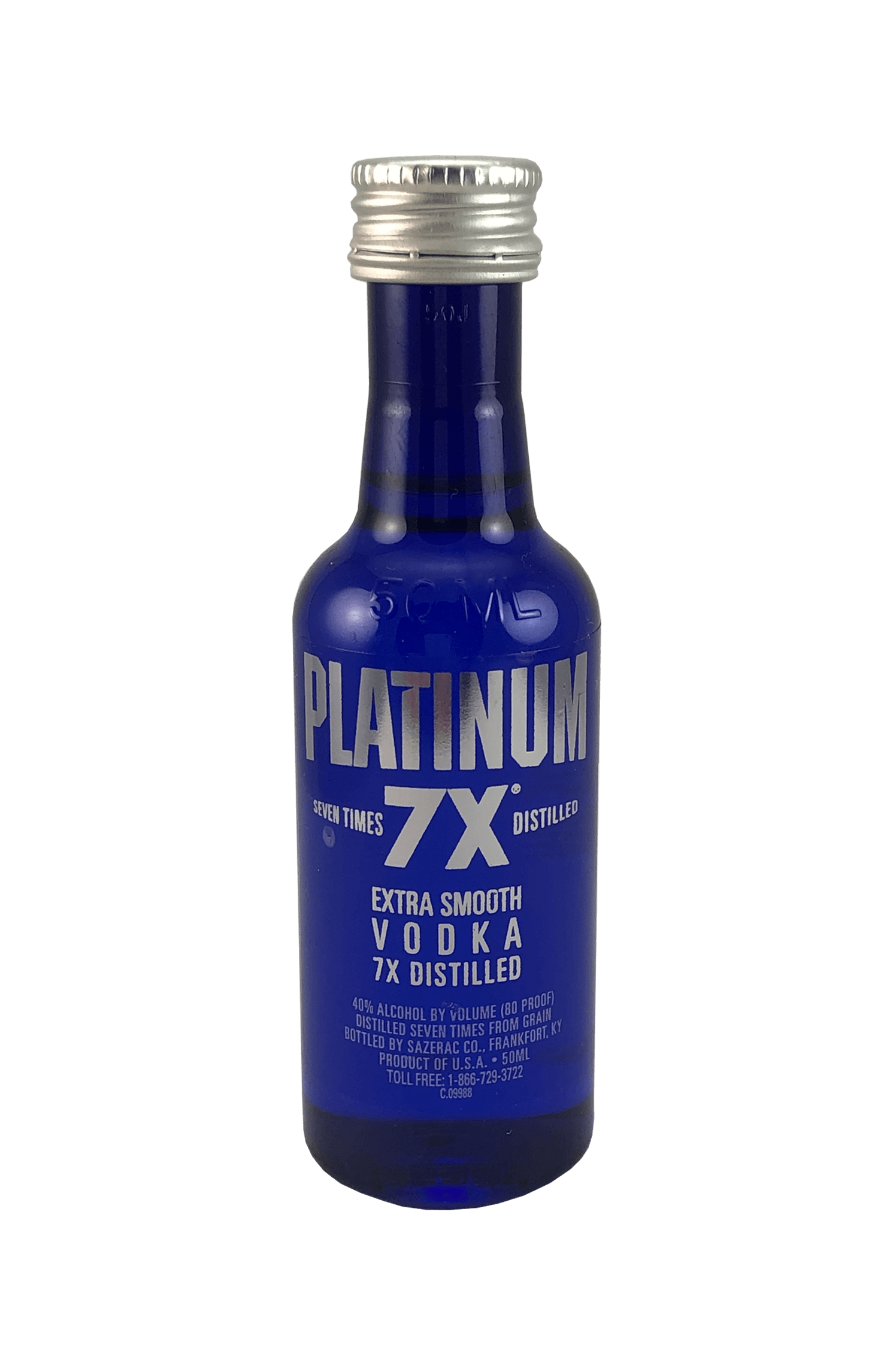 PLATINUM 7X EXTRA SMOOTH VODKA